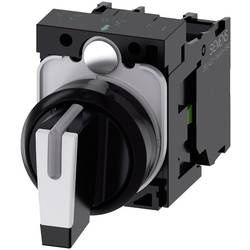 Kloubový spínač Siemens SIRIUS ACT 3SU1100-2BL60-1NA0, 2 x 45 °, černá, bílá, 1 ks