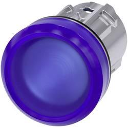 Světelný hlásič Siemens 3SU1051-6AA50-0AA0, plochý, modrá, 1 ks