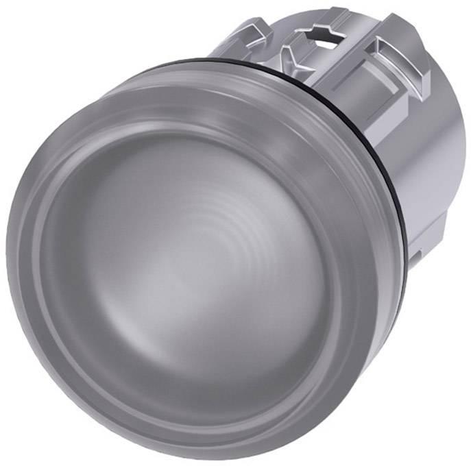 Signalizační světlo Siemens 3SU1051-6AA70-0AA0, plochý, čirá, 1 ks