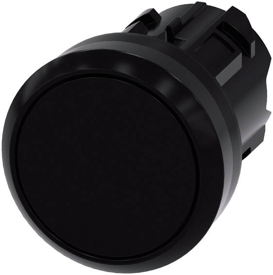 Tlačítkový spínač Siemens SIRIUS ACT 3SU1000-0AA10-0AA0, černá, 1 ks