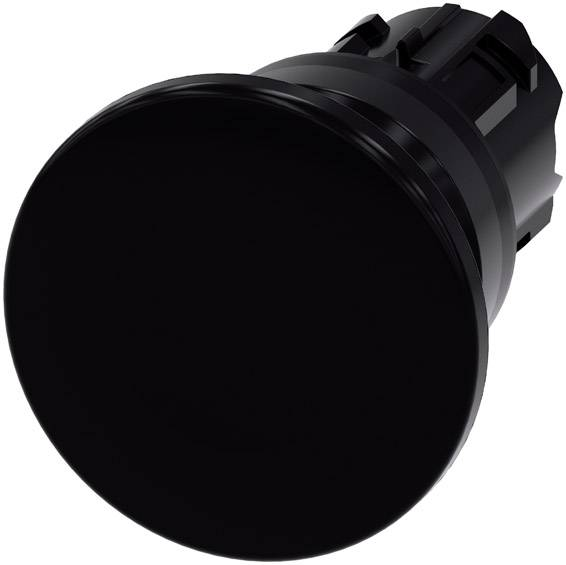Guľové tlačidlo Siemens SIRIUS ACT 3SU1000-1BD10-0AA0, čierna, 1 ks
