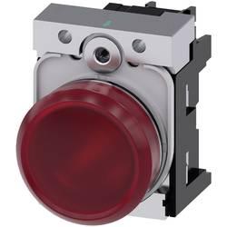 Signalizační světlo Siemens 3SU1156-6AA20-1AA0, Vysoký lesk , 230 V/AC, červená, 1 ks