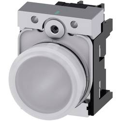Signalizační světlo Siemens 3SU1156-6AA60-1AA0, Vysoký lesk , 230 V/AC, bílá, 1 ks