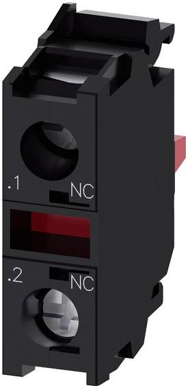 Spínací kontaktní prvek Siemens SIRIUS ACT 3SU1400-1AA10-1CA0, 1 rozpínací kontakt, 500 V, 1 ks