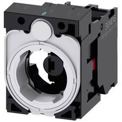 Spínacie kontaktné teleso, LED element s adaptérom Siemens SIRIUS ACT 3SU1501-1AG00-1CA0, 1 rozpínací, jantárová, 24 V DC/AC, 1 ks