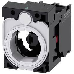 Spínacie kontaktné teleso, LED element s adaptérom Siemens SIRIUS ACT 3SU1501-1AG60-1CA0, 1 rozpínací, biela, 24 V DC/AC, 1 ks