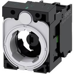 Spínacie kontaktné teleso, LED element s adaptérom Siemens SIRIUS ACT 3SU1501-1AG60-1BA0, 1 spínací, biela, 24 V DC/AC, 1 ks