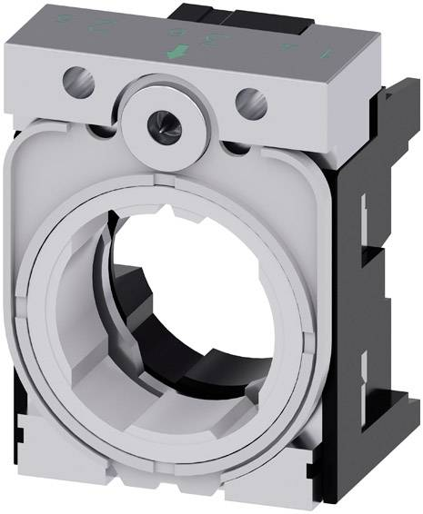 Siemens SIRIUS ACT 3SU1550-0AA10-0AA0 3SU1550-0AA10-0AA0, (š x v) 30 mm x 40 mm, sivá, čierna, 1 ks
