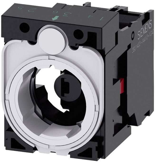 Spínací kontaktní prvek, LED kontrolka s adaptérem Siemens SIRIUS ACT 3SU1501-1AG40-1CA0, 1 rozpínací kontakt, zelená, 24 V DC/AC, 1 ks
