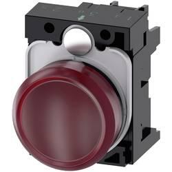Světelný hlásič Siemens 3SU1106-6AA20-1AA0, plochý, 230 V/AC, červená, 1 ks