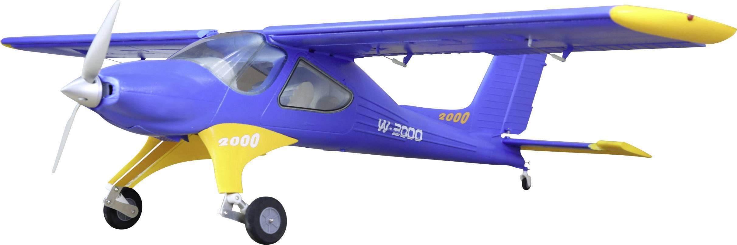 RC model motorového lietadla Reely W-2000 3009, ARF, rozpätie 1330 mm