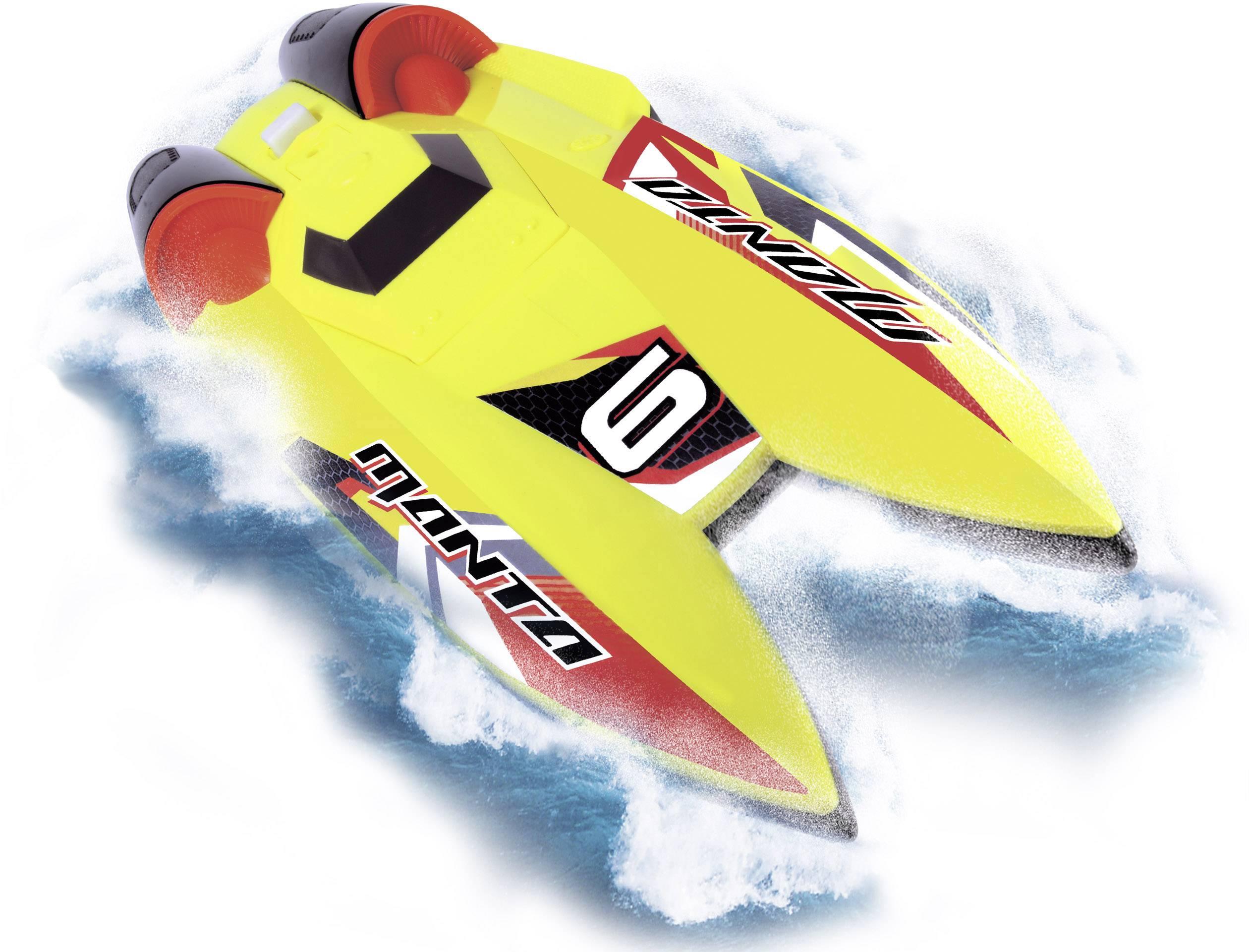 RC model motorového člunu pro začátečníky Dickie Toys Manta, 310 mm, RtR