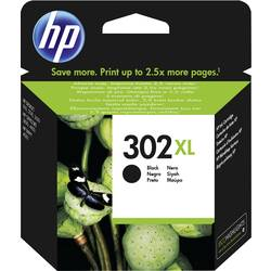 HP Inkoustová kazeta 302 XL originál černá F6U68AE