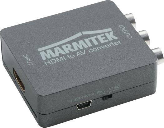 AV konvertor HDMI zásuvka ⇒ cinch zásuvka Marmitek Connect HA13 08263