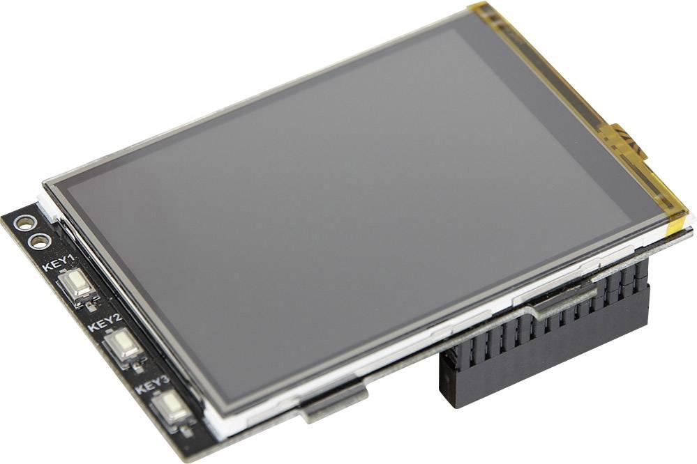 Modul s displejem pro Raspberry Pi® Raspberry Pi černá