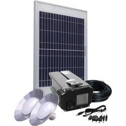 Solárna sada Phaesun Energy Comfort Solar Side One 390956, 10 Wp, vr. akumulátora, vr. kábla, s 2 svetlami