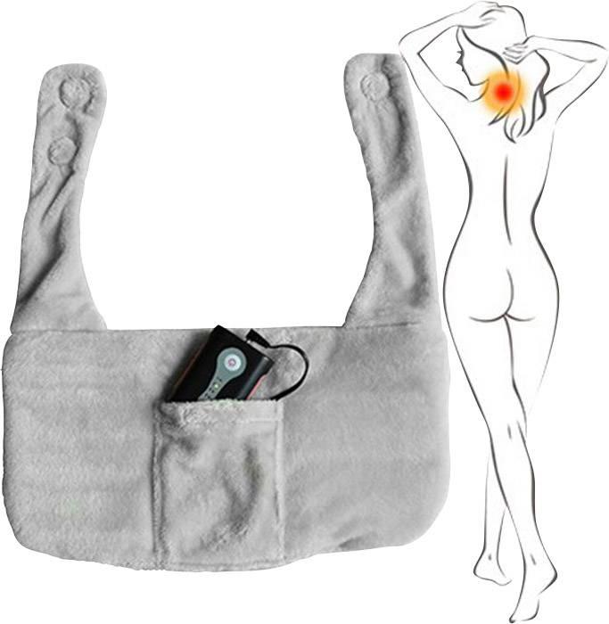 Zahřívací polštářek na krk a ramena Hydas LH-1153, šedá