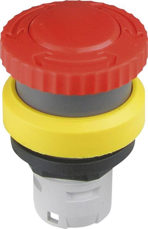Núdzový vypínač Schlegel RKVGB, otočenie, červená, žltá, 1 ks