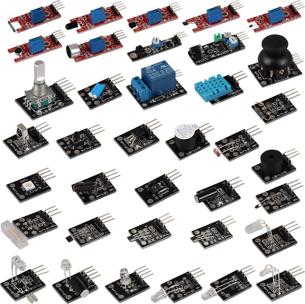 Senzorová sada Sensor Kit SKA-36 X36 pro vývojové desky Arduino, Arduino UNO, Raspberry Pi