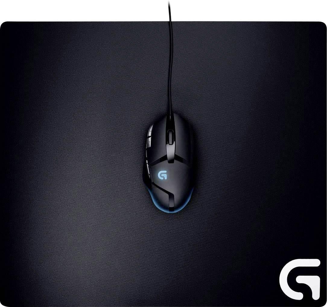 Herná podložka pod myš Logitech Gaming G640, 460 x 3 x 400, čierna