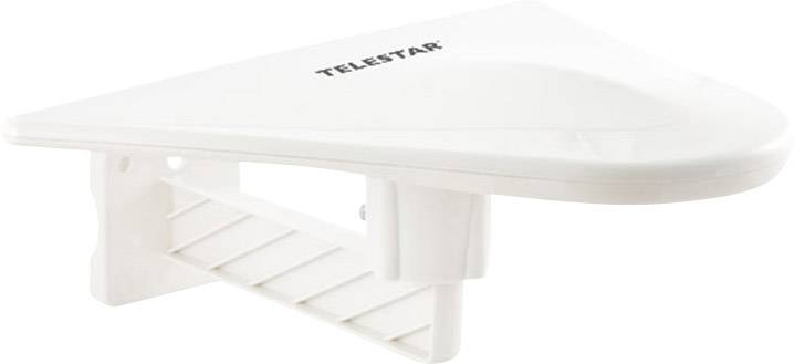 Aktivní střešní DVB-T/T2 anténa Telestar Antenna 10, venkovní, 51 dB, bílá