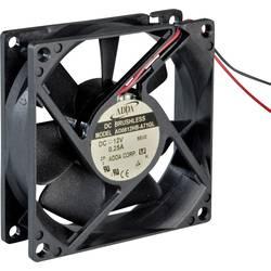 Axiální ventilátor ADDA AD0824HB-C71(N) AD0824HB-C71(N), 24 V/DC, 31.4 dB, (d x š x v) 80 x 80 x 20 mm
