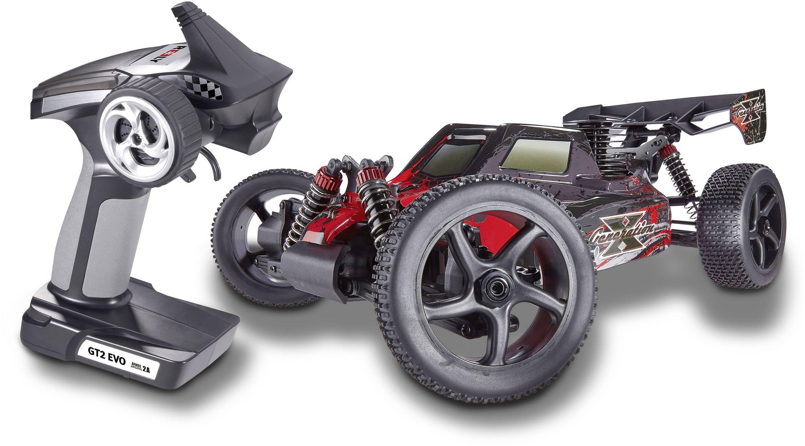 RC model auta se spalovacím motorem Buggy Reely Generation X, 1:8, pohon 4x2, RtR, 2,4 GHz