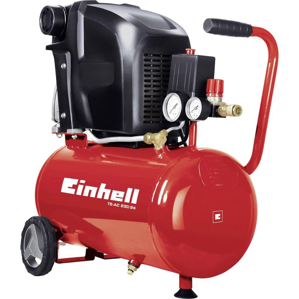 Piestový kompresor Einhell TE-AC 230/24 4010460, objem