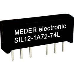 Relé s jazýčkovým kontaktem StandexMeder Electronics SIL24-1A72-71D, 3324100171, 1 spínací kontakt, 24 V/DC, 0.5 A, 10 W, SIL-4