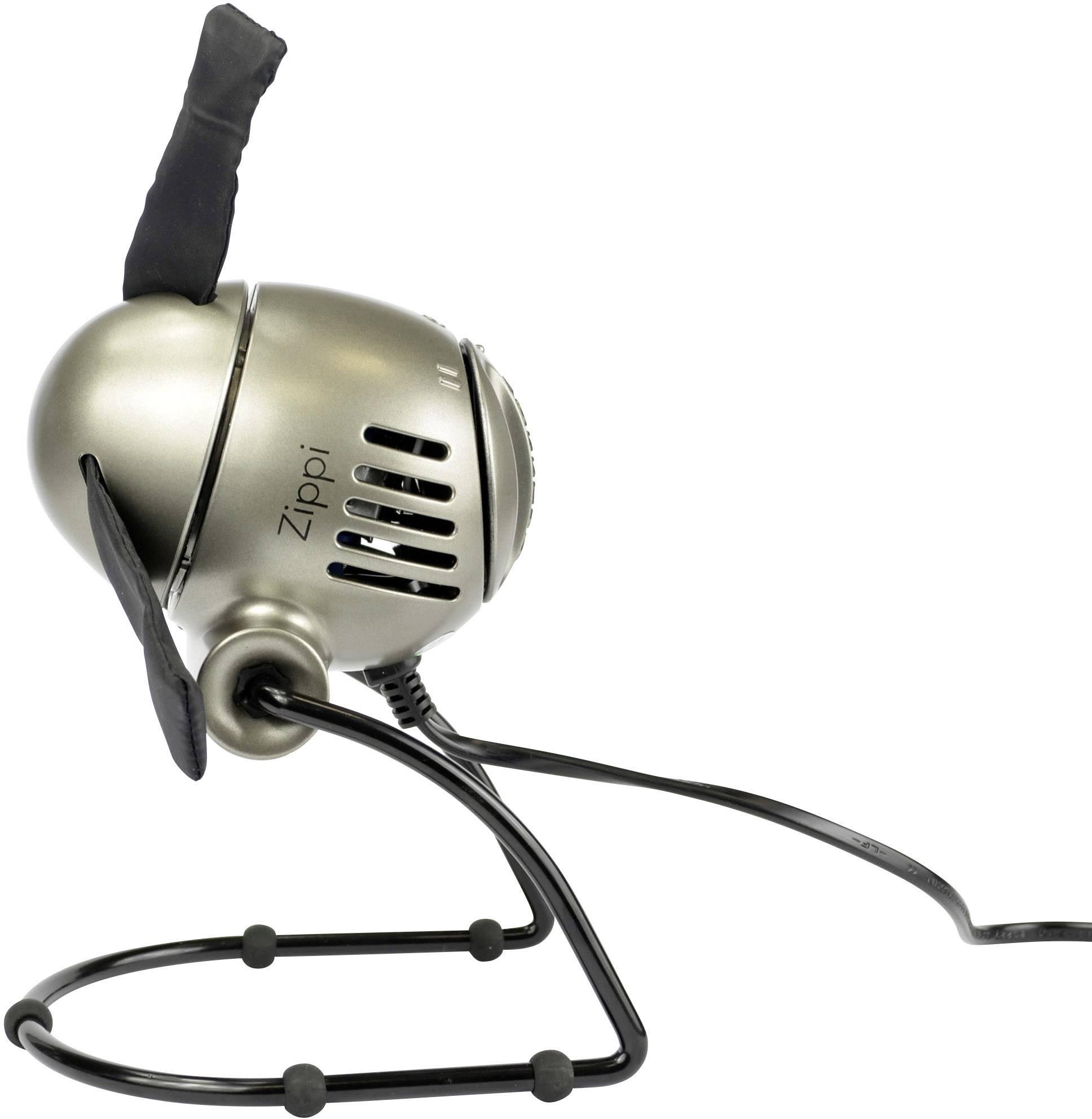 Stolný ventilátor Vornado Zippi Platinum 20 W (Ø) 18.8 cm strieborná