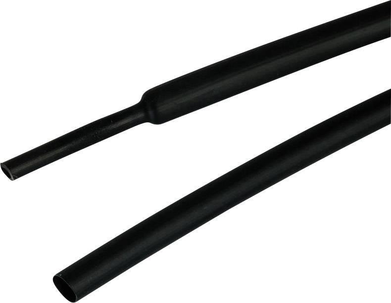 Smršťovací bužírka s lepidlem TE Connectivity ATUM-19/6-0 ATUM-19/6-0 3:1, -55 až +110 °C, 19 mm, černá, 1.2 m