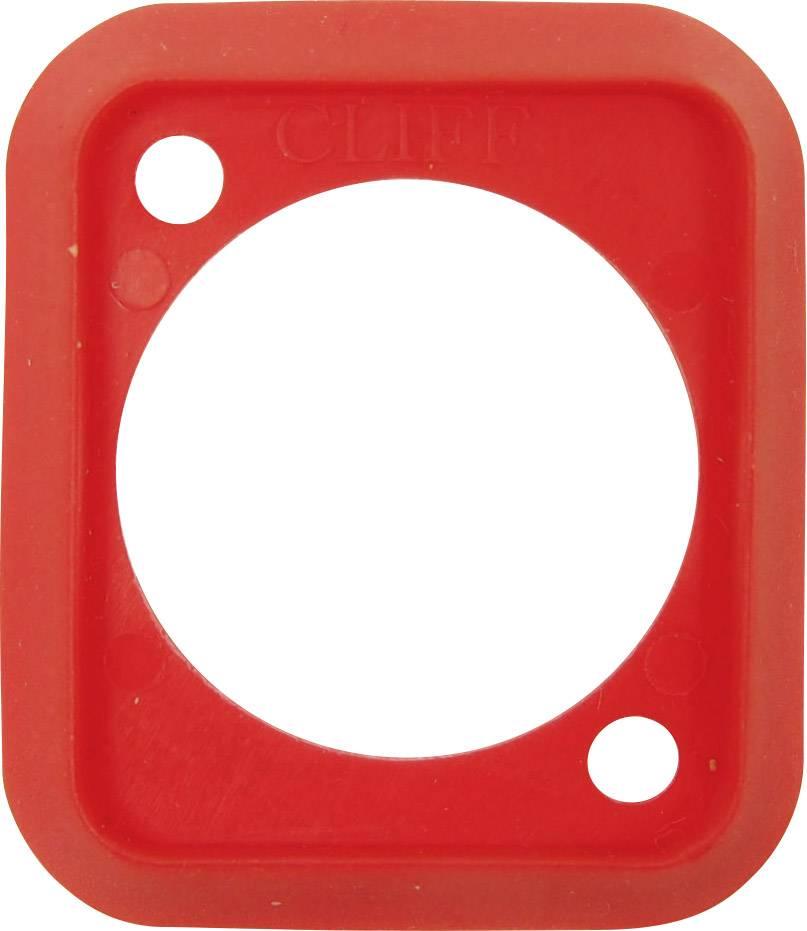 Těsnění Cliff CP299907, červená, 1 ks