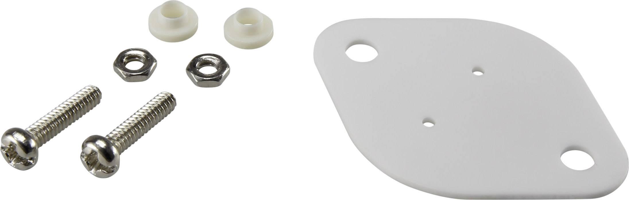 Sada montážního materiálu pro polovodiče SCI A18-10B, (d x š) 42 mm x 30 mm, vhodné pro TO-3 , 1 sada