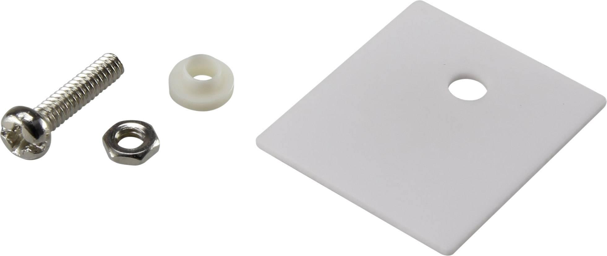 Sada montážního materiálu pro polovodiče SCI A18-10C, (d x š) 25 mm x 22 mm, vhodné pro TO-218 , 1 sada