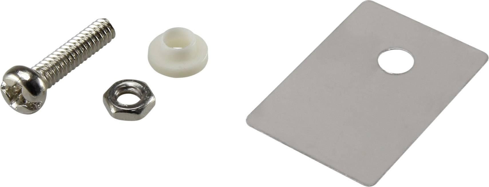 Sada montážneho materiálu pre polovodiče TRU COMPONENTS TC-A18-10D, (d x š) 22.3 mm x 15.2 mm, 1 sada