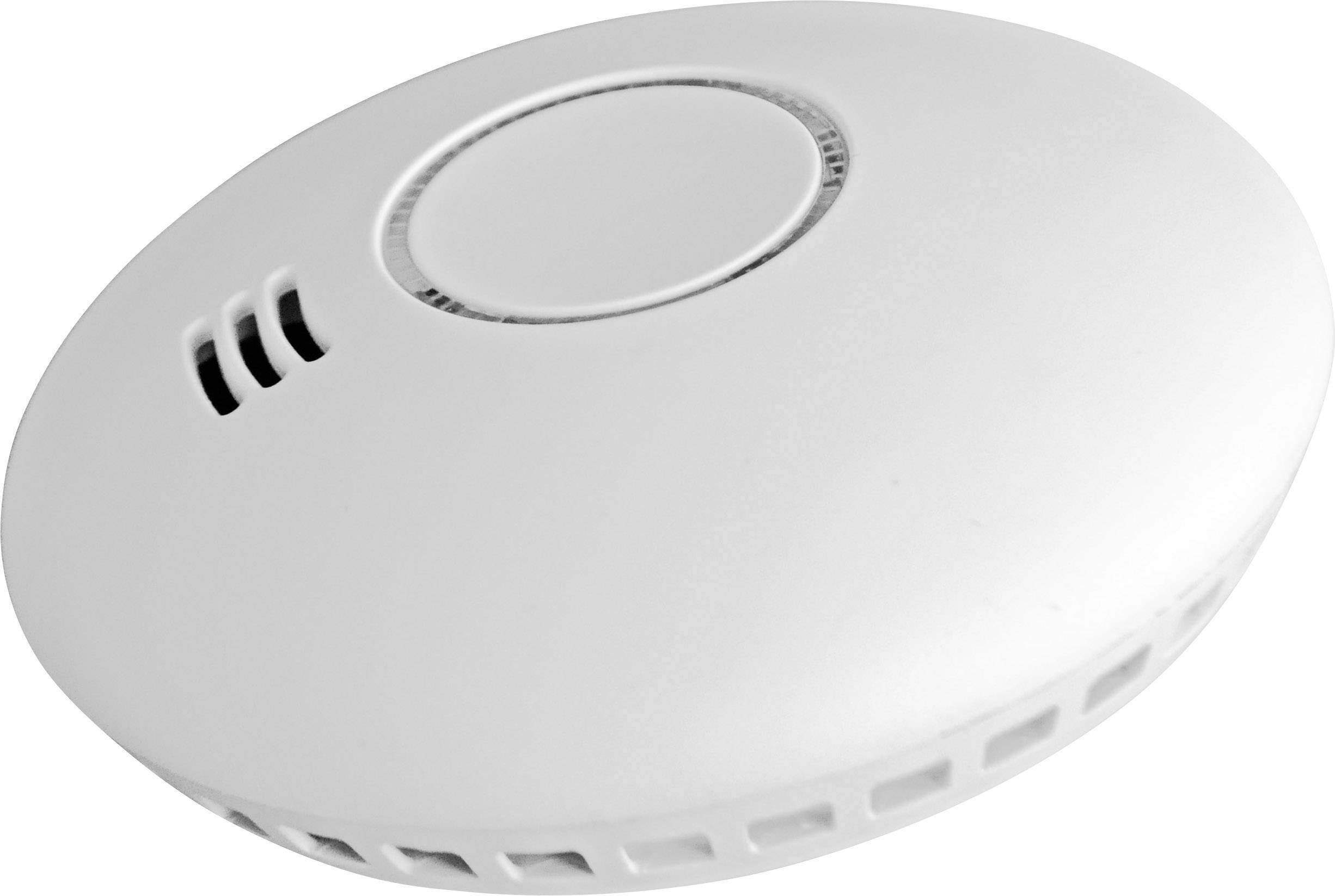 Bezdrátový detektor kouře a tepla Cordes CC-80, možnost zapojení do sítě, na baterii