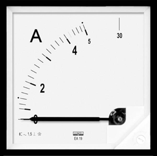 Panelové analógové meradlo Lumel EA19 50/5A