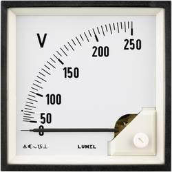 Panelové analógové meradlo Lumel EA19 500V 500 V/AC Otočný pliešok
