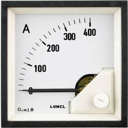 Vstavané meracie zariadenie 96 x 96 mm Lumel MA19 400A/60mV 400 A / DC (60 mV) Otočná cievka