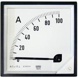 Vstavané meracie zariadenie 96 x 96 mm Lumel MA19 100A/60mV 100 A / DC (60 mV) Otočná cievka