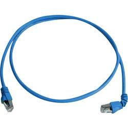 Sieťový prepojovací kábel RJ45 Telegärtner L00000A0198, CAT 6A, S/FTP, 1.00 m, modrá