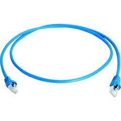 Sieťový prepojovací kábel RJ45 Telegärtner L00006A0046, CAT 6A, S/FTP, 20.00 m, modrá