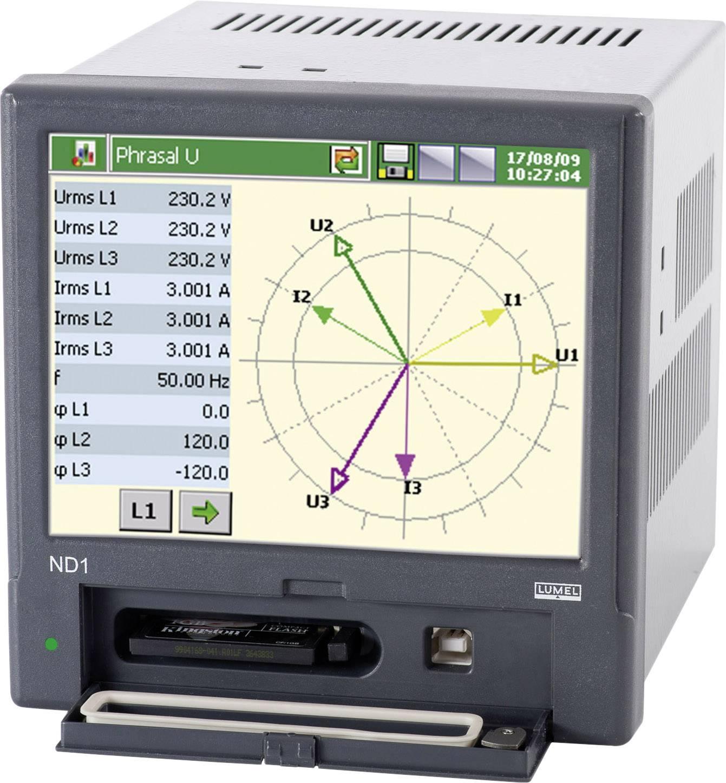 Panelový síťový analyzátor Lumel ND1 2200E0