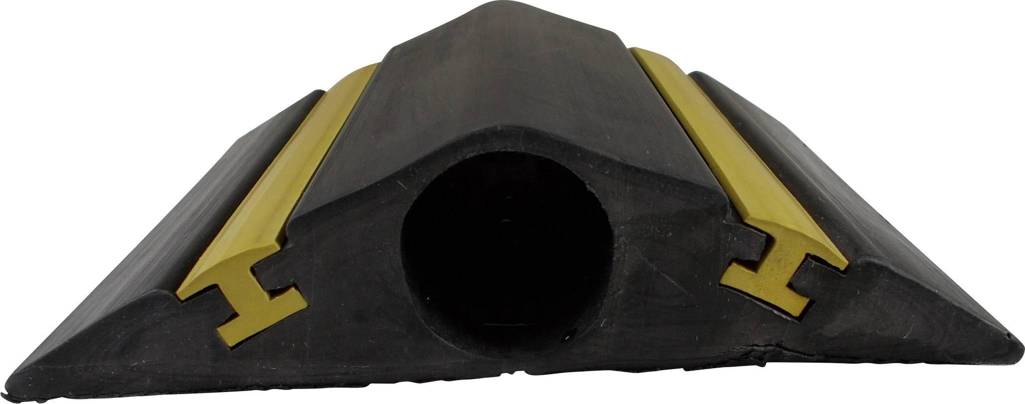 Kabelový můstek Vulcascot VUS-067, (d x š x v) 4500 x 127 x 28 mm, černá, 1 ks