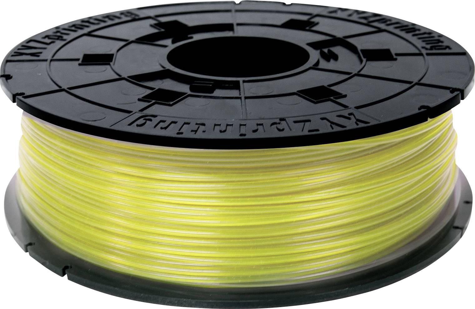 Vlákno pro 3D tiskárny XYZprinting RFPLCXEU03J, PLA plast, 1.75 mm, 600 g, žlutá (jasná)