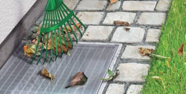 Sieťka na svetlík proti hmyzu tesa Insect stop Aluminium 50008-00-00, hliník