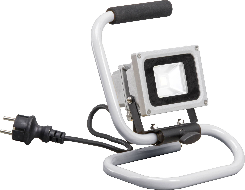 Stavebný LED reflektor Smartwares CLB1-B10S 10.021.12, sivá