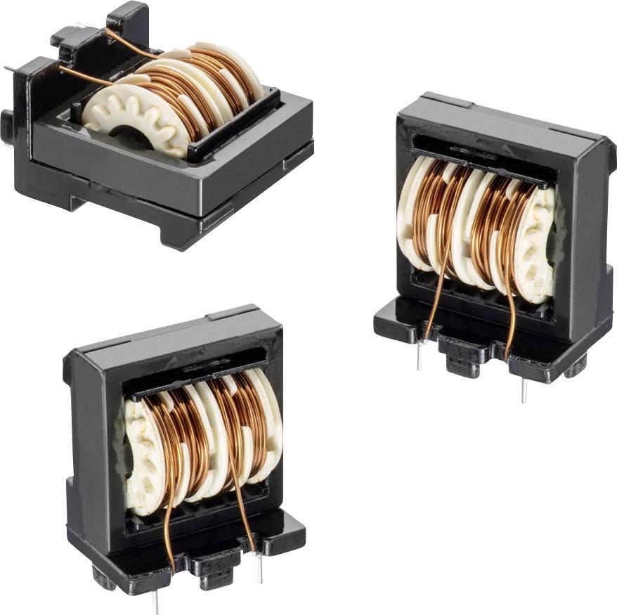 Síťová tlumivka Würth Elektronik WE-FCL 744866104, 100 mH, 1.25 A, 1 ks