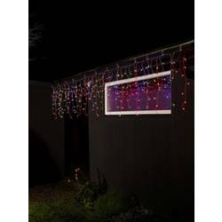 Světelný závěs - zmrzlé kapky Konstsmide 3672-503 200 x 24 V, barevná