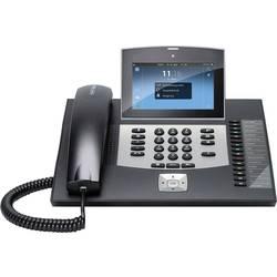 Systémový telefón, VoIP Auerswald COMfortel 3600 IP Bluetooth, konektor na slúchadlá farebný-TFT/LCD čierna